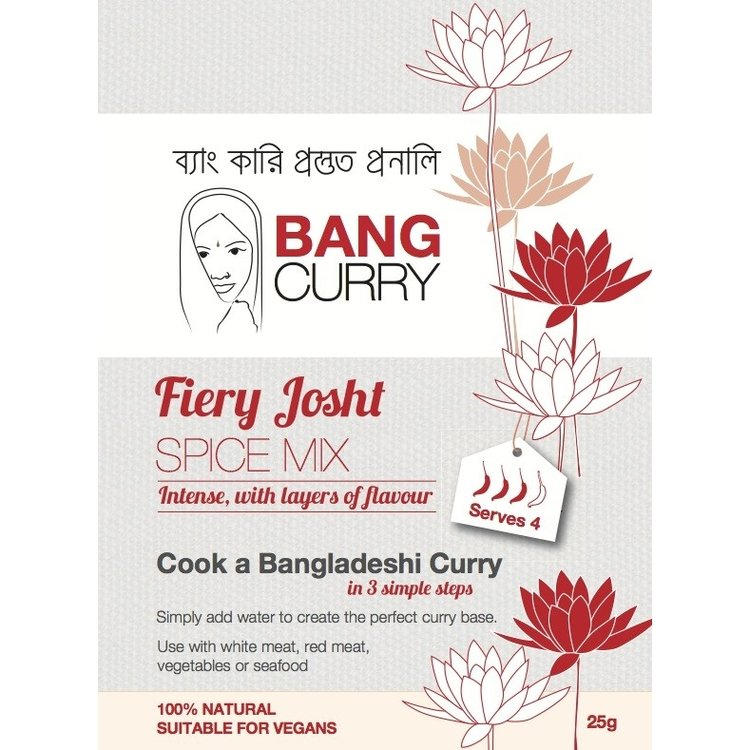 Fiery Josht Curry Spice Mix 25g