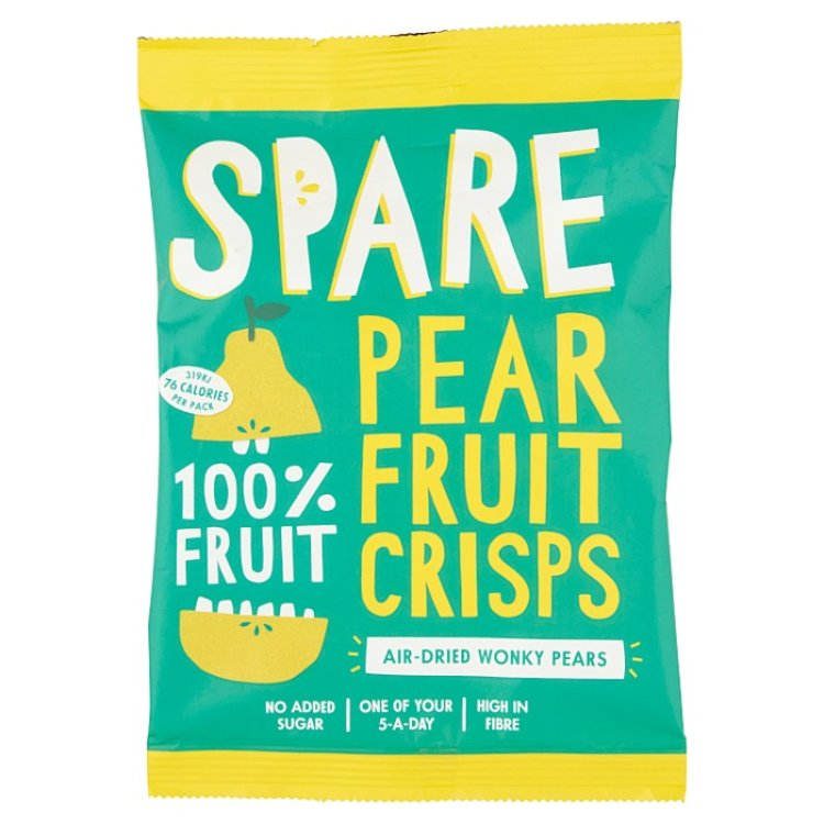 15 x Air-Dried Pear Fruit Crisps Snack Pack (15 x 22g)