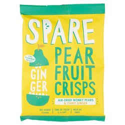 15 x Air-Dried Pear & Ginger Fruit & Vegetable Crisps Snack Pack (15 x 22g)