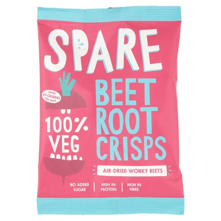 15 x Air-Dried Beetroot Vegetable Crisps Snack Pack (15 x 22g)