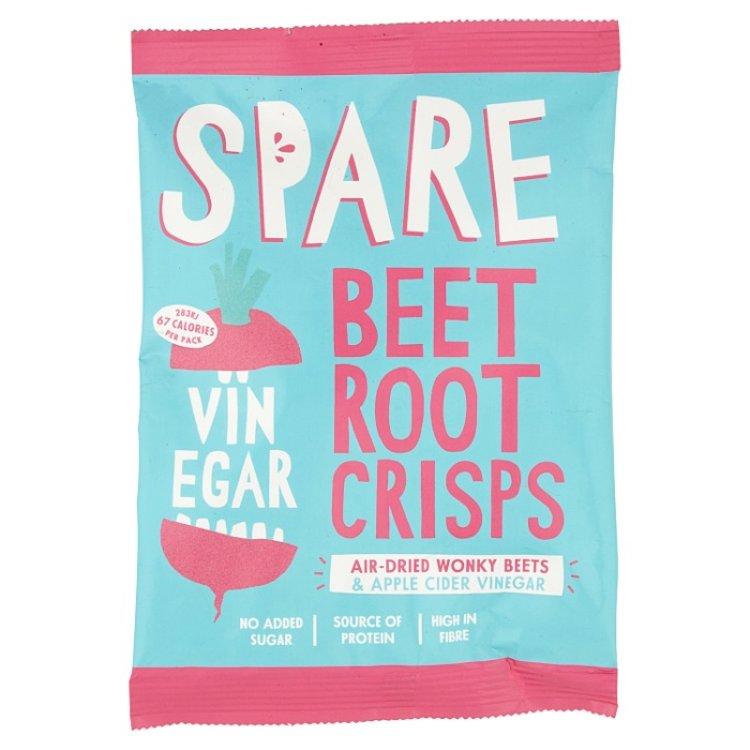 15 x Air-Dried Beetroot & Apple Fruit & Vegetable Crisps Snack Pack (15 x 22g)