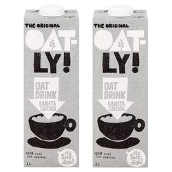 2 x Barista Edition Foamable Oat Drink 1 Litre by Oatly