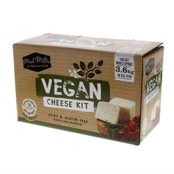 Make Your Own Vegan Cheese Gift Kit (Makes Feta, Mozzarella, Halloumi & Cream Cheese)