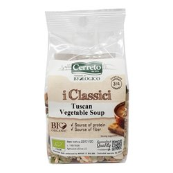 Organic Tuscan Vegetable Soup Mix with Beans, Chickpeas & Lentils 250g
