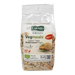 Organic Mediterranean Vegan Burger Mix with Soya, Quinoa & Tomatoes 160g (Makes 4 Burgers)