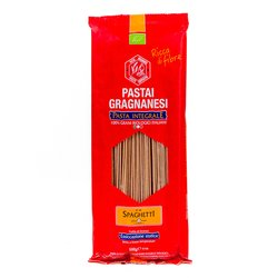 Organic whole wheat Spaghetti Gragnano Pasta 500g