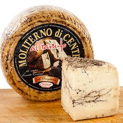 Sardinian Pecorino Cheese with Black Summer Truffle 200g (Sheep's Milk)