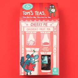 'Cherry Pie' Children's Fruit Tea with Hibiscus 15 Tea Bags
