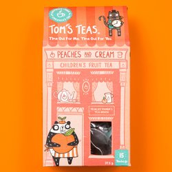 Peaches & Cream Children's Fruit Tea 15 Tea Bags