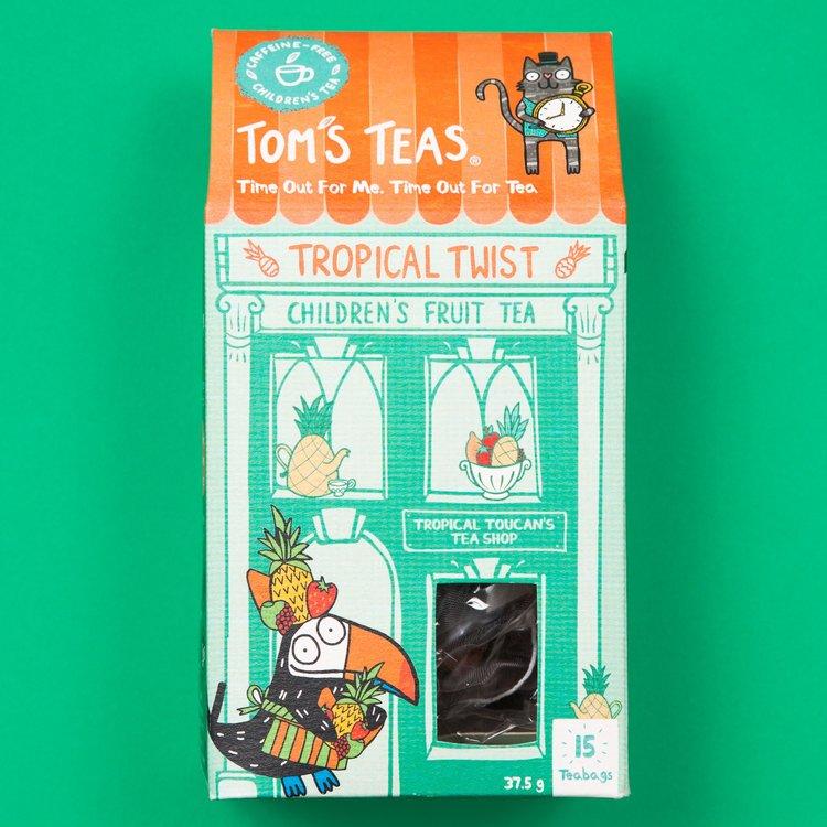 'Tropical Twist' Children's Fruit Tea with Hibiscus 15 Tea Bags