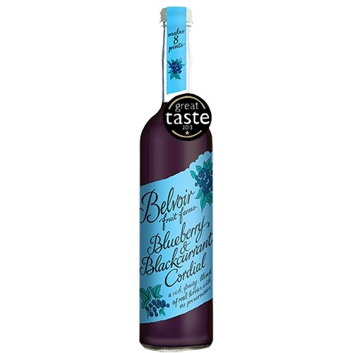 Blueberry & Blackcurrant Cordial 500ml