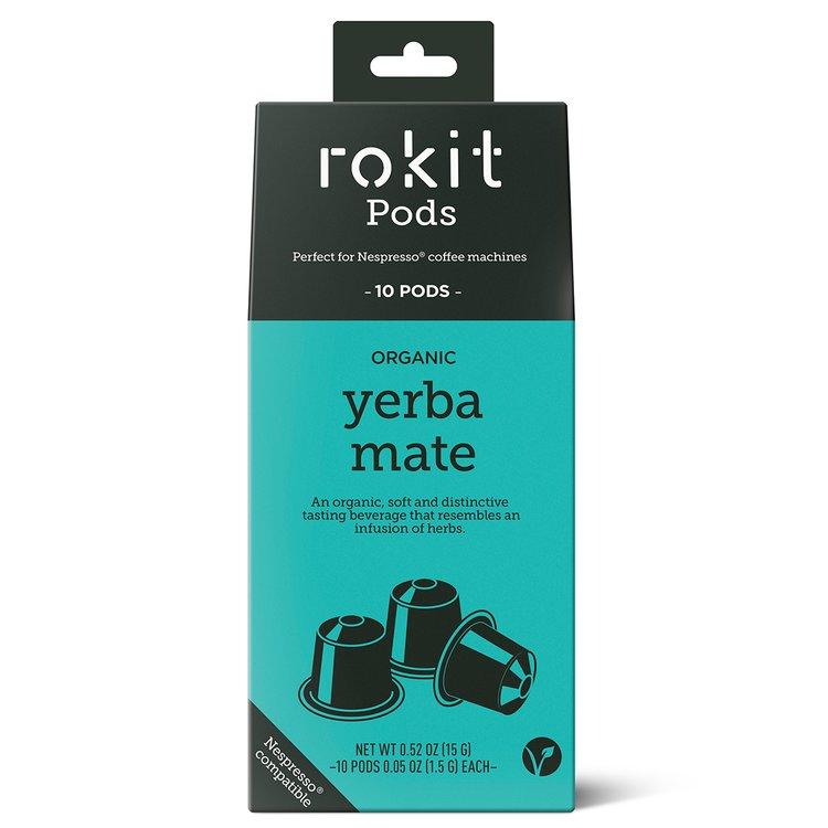 10 Organic Yerba Mate Tea Nespresso Compatible Pod Capsules