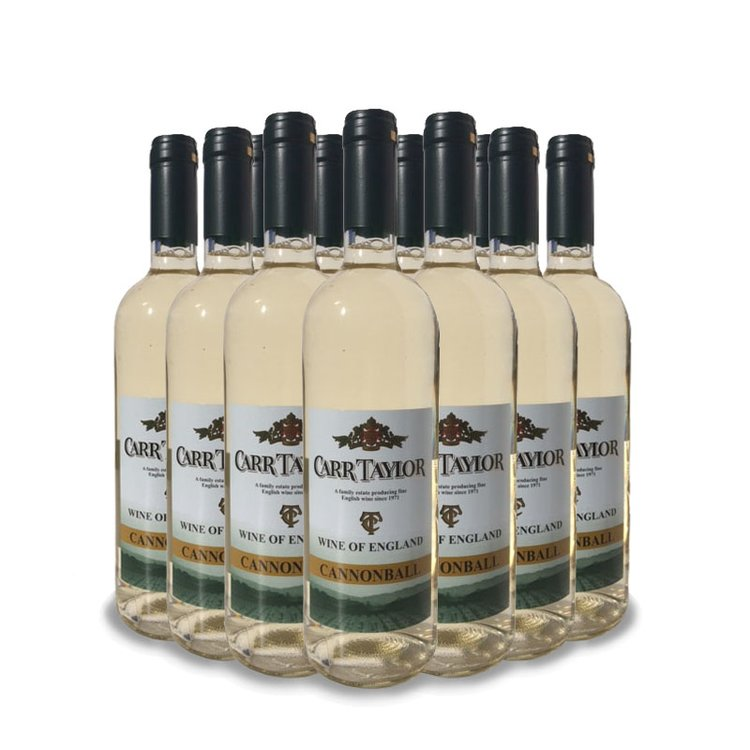 12 x 'Cannonball' Still English White Wine Case 10.5% ABV (12 x 75cl)