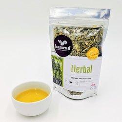 Herbal Loose Leaf Tea Blend with Sage, Chamomile & Lemongrass 50g