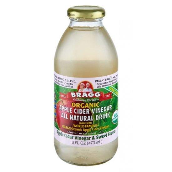 Bragg Organic Apple Cider Vinegar with Sweet Stevia 473ml