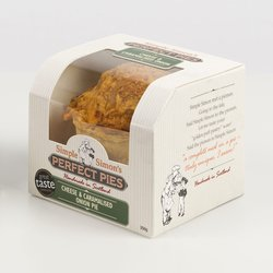 Cheese & Caramelised Onion Puff Pastry Pie 250g (Vegetarian)