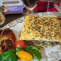 4 x Heather Honeyed Venison Puff Pastry Pie Slice (4 x 200g)