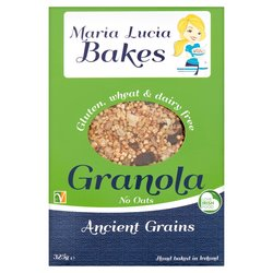 2 Packs Gluten-Free Ancient Grains Granola with Quinoa, Millet & Seeds - No Oats (2 x 325g)