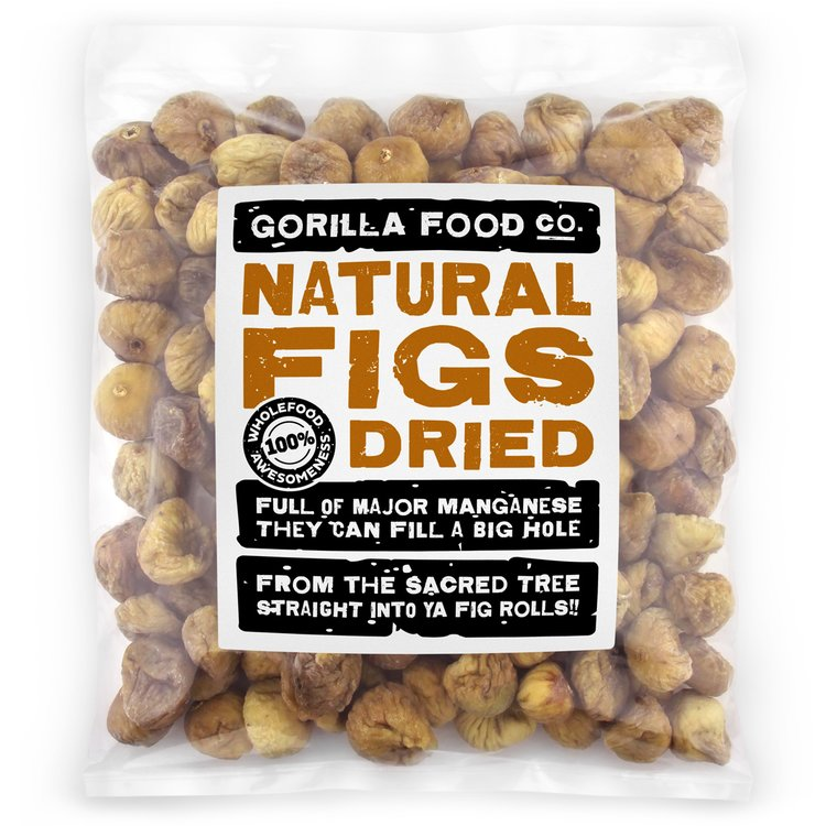 Whole Dried Natural Figs 800g