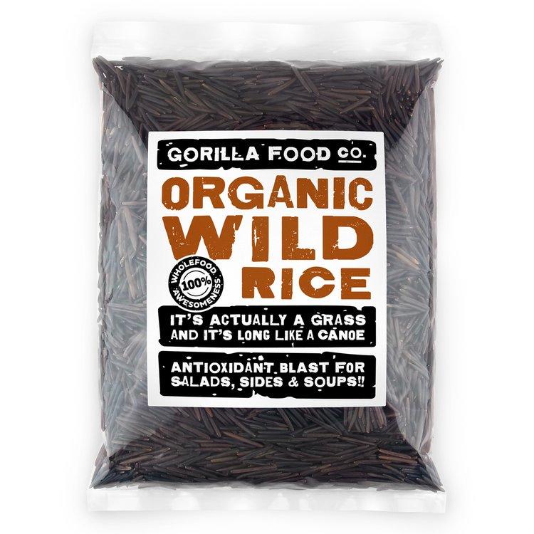 400g Organic Natural Wild Rice