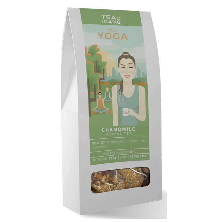 'Miss Yoga' Chamomile Herbal Tea 15 Tea Bags