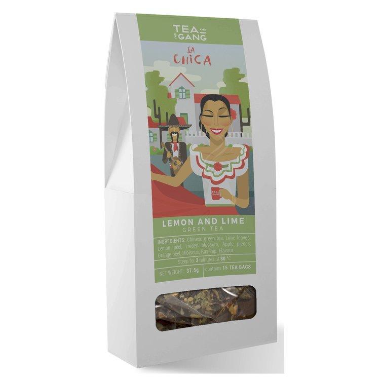 'La Chica' Lemon & Lime Green Tea 15 Tea Bags