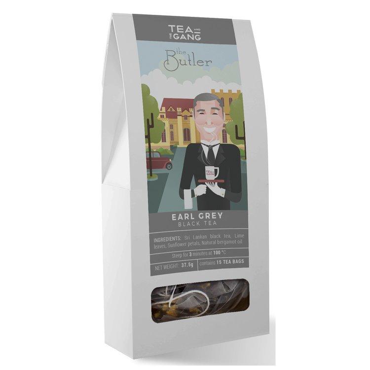 'The Butler' Earl Grey Black Tea 15 Tea Bags