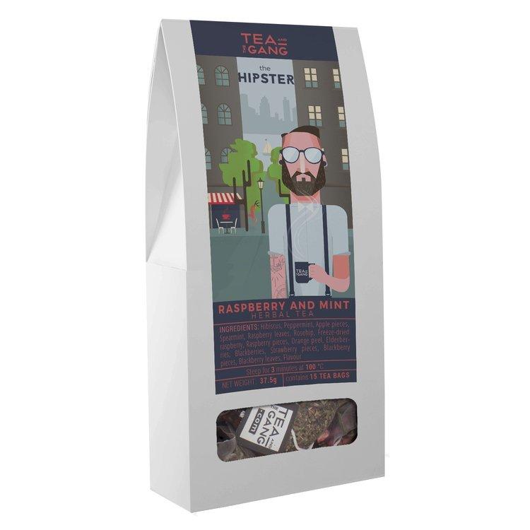 'The Hipster' Raspberry & Mint Herbal Tea 15 Tea Bags