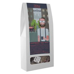'The Hipster' Raspberry & Mint Herbal Tea 15 Tea Bags