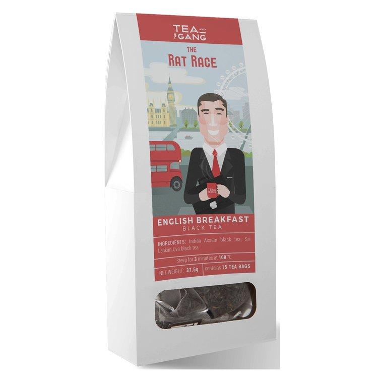 'The Rat Race' English Breakfast Black Tea 15 Tea Bags