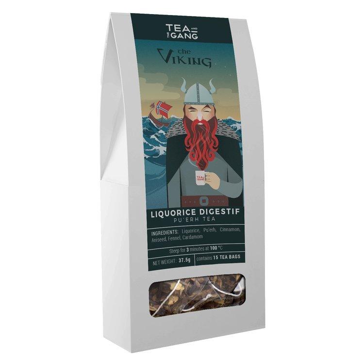 'The Viking' Liquorice Digestif Pu'erh Tea 15 Tea Bags