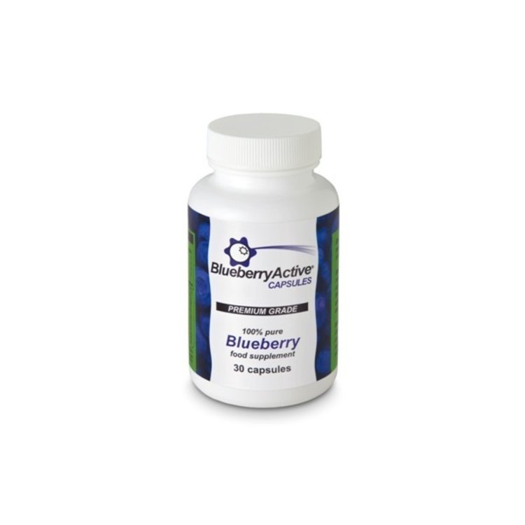 Blueberry active 30 capsules