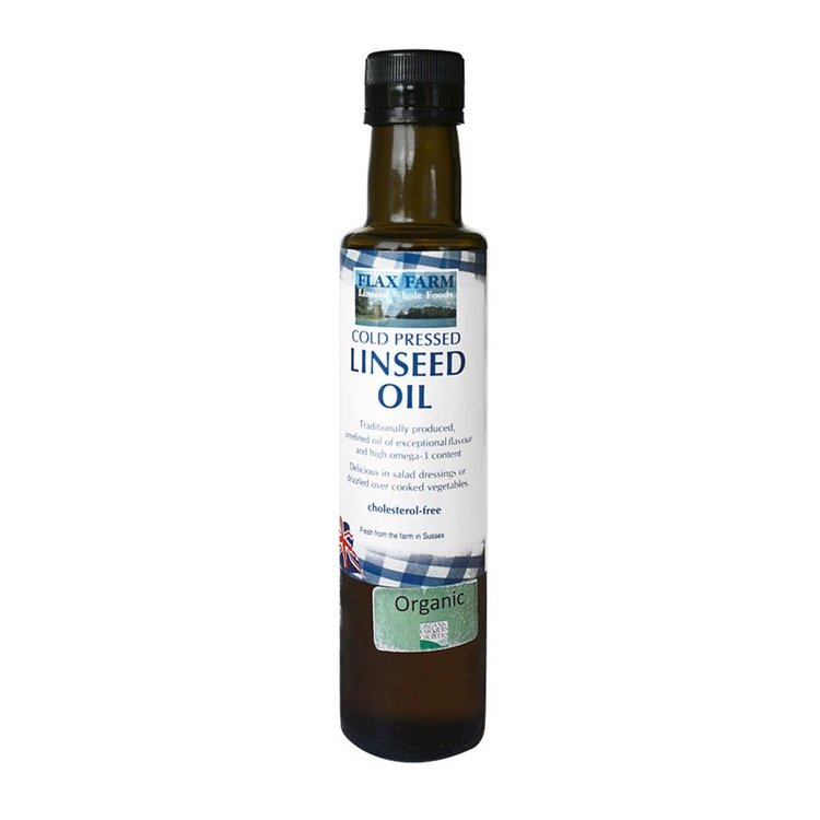 Organic Cold-Pressed Linseed (Flaxseed) Oil 500ml