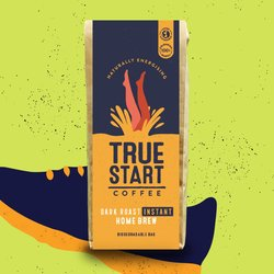 Dark Roast Home Brew Instant Colombian Arabica Coffee 200g
