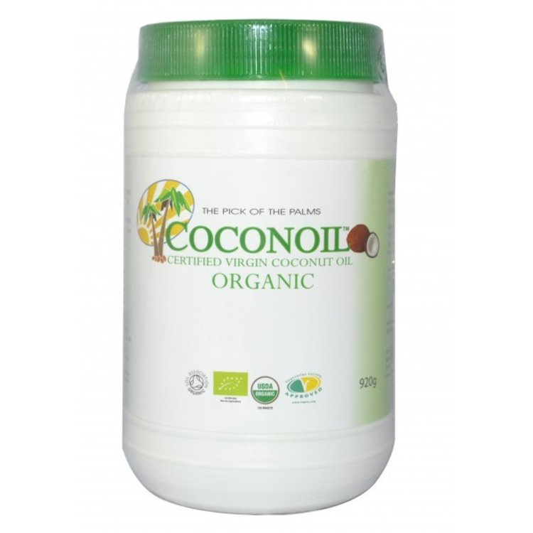 Coconoil organic virgin coconut oil 920g