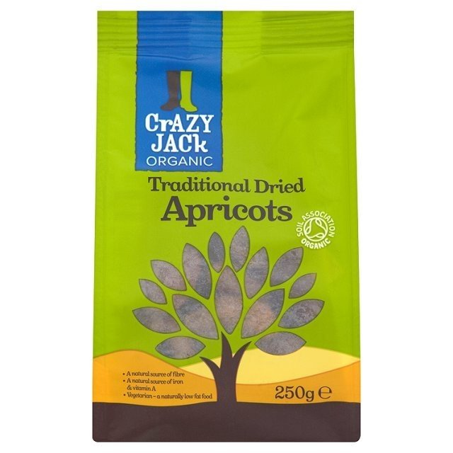 Organic Traditional Dried Apricots 250g