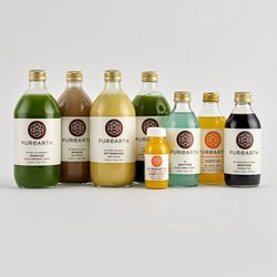 1 Day Medicinal Organic Body Cleanse Inc. Juices, Nut Mylk, Tonic, Tea & Kefir