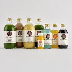 1 Day Medicinal Organic Body Cleanse Inc. Juices, Nut Mylk, Tonic, Tea & Kefir