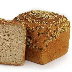 4 x Organic Buckwheat 3 Grain Bread Gluten Free (4 x 390g)