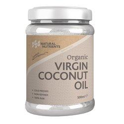 Organic Virgin Coconut Oil Cold-Pressed 500ml