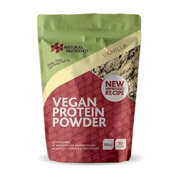 300g Vanilla Vegan Plant-Based Protein Powder Inc. Pea, Brown Rice & Faba Bean Protein