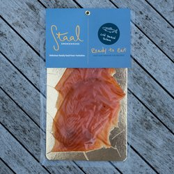 Sliced Scottish Oak & Apple Cold Smoked Salmon Pack 100g