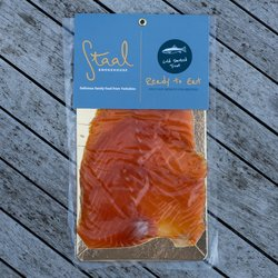 Sliced Cold Smoked Rainbow Trout 100g