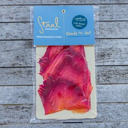 Sliced Beetroot Smoked Salmon 100g