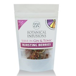 6 'Bursting Berries' Botanical Infusion Bags for Gin & Tonic