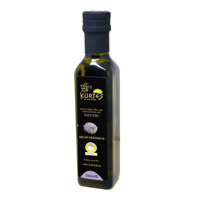 Thyme Infused Extra Virgin Olive Oil 250ml