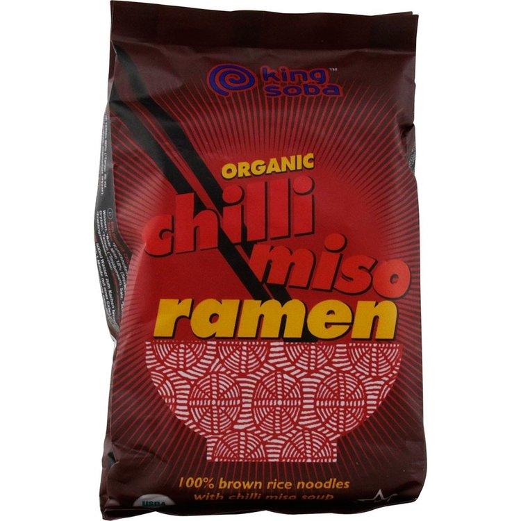 Organic Chilli Miso Ramen 80g