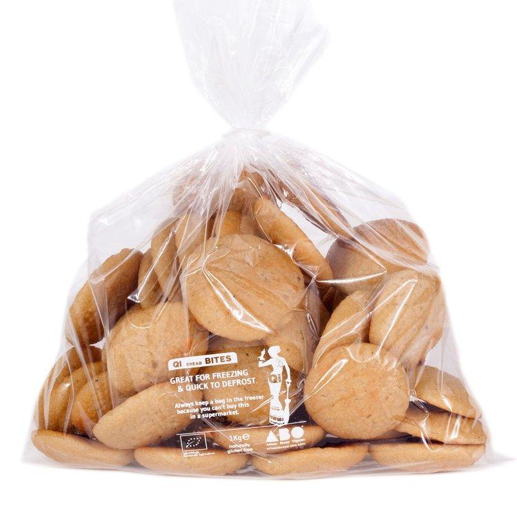 Organic Gluten-Free Quinoa Bread Bites 1kg