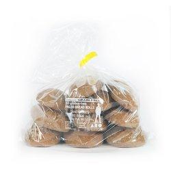 11 x Organic Gluten-Free Paleo Rye Style Buckwheat Bread Rolls Bag 1.3kg