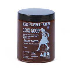 Vegan 'Chufatella' Spread with Flax Seed Oil (Chocolate Spread Alternative) 360g